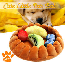 Pet Dog Cat Bed Puppy Pad Cushion House Soft Warm Kennel Mat with 5 Fruit Toy