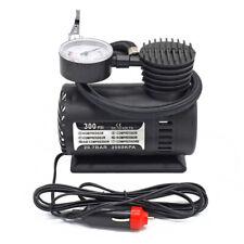 Backup Car Air Compressor Pump Electric Tire Inflator Pump with Pressure Gauge