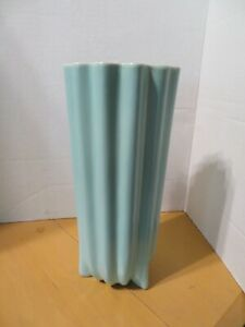 Catalina Pottery Tall Turquoise Vase