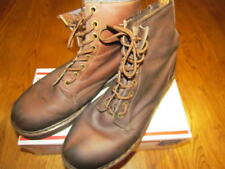 Vintage DOC Dr. MARTENS Air Wair ENGLAND 8 Eye Lace Up Boots Brown Sz UK 12 MENS