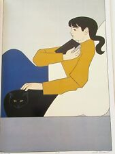 Will Barnet Poster The Book Offset Lithograph Unsigned 16x11
