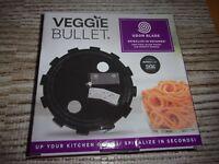 Veggie Bullet Udon Steel Blade - Spiralize in Seconds