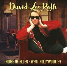 David Lee Roth - House of Blues, West Hollywood '94 (2017)  2CD  NEW  SPEEDYPOST