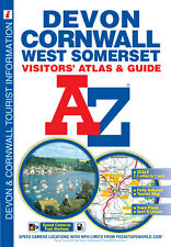 Devon, Cornwall and West Somerset Visitors' Atlas by A-Z Maps