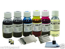 6X4oz/s Refill ink kit for Kodak 10 : ESP 3 3250 5 5210 5250 7 printer + 2Chips
