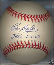 Curt Blefary 3 HRs ROY Baltimore Orioles Autographed Signed OAL Ball DECEASED