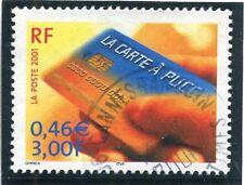 TIMBRE FRANCE OBLITERE N° 3426 SCIENCE LA CARTE A PUCE /