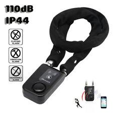 Smart Lock Bluetooth Chain Anti-Theft 110db Alarm IOS Android Motorcycle Door