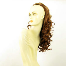 DT Half wig HairPiece extensions long curly dark blond copper 22.8 :16/g27