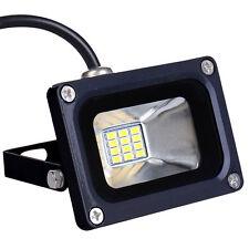 10W 12V LED Flutlicht Strahler Scheinwerfer Warmweiß 12 Volt Außen Fluter Lampe