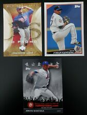 2005 Upper Deck Artifacts Johan Santana #49 UD PROMO *RARE* Plus 2 2009 Topps