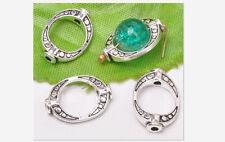 30pcs Tibetan silver ancient gold bead spacer loose Beads Frame 15x10mm B3159