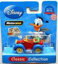 MOTORAMA DISNEY 1:64  modellino AUTO PAPERINO  (Donald Duck) DIE CAST METAL