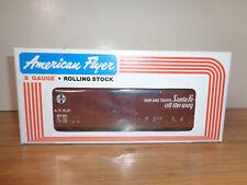 AMERICAN FLYER S GAUGE # 4-9710 A.T.S.F. (SANTA FE) BOXCAR - NEW