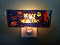 SPACE INVADERS Arcade Marquee Night Light