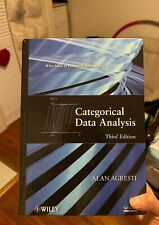 Categorical Data Analysis by Alan Agresti, Third Edntion