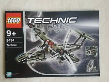 LEGO TECHNIC 8434 - AIRPLANE - 99% complete