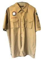 Boy Scouts of America Uniform Shirt Khaki Men's Large L