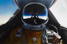 SR-71 BLACKBIRD SUPERSONIC JET PILOT POSTER 24x36 HIGH RES