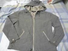 ALLEN SCHWARZ ABS zipper up hoodie jacket size P