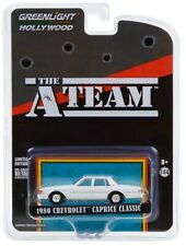 1:64 GreenLight *Hollywood The A-Team* White 1980 Chevrolet Caprice Classic Nip!