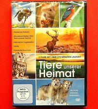 DVD: Tiere unserer Heimat * 5 Filme / über 270 Minuten * neu / ovp