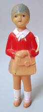 """1920s CELLULOID GIRL - 4.5"""" TALL - AMERICAN MADE"""