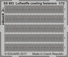 Eduard SS603 Luftwaffe Cowling Fasteners 1/72