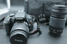 Canon EOS Rebel T3i Digital SLR Camera with 18-55mm and 75-300mm Lenses