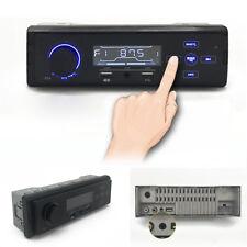 Car Bluetooth Stereo Aux Input USB FM AM MP3 In-Dash Radio Player Speakerphone