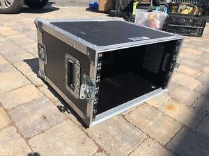 "6U Swan Flight Case 19"" Rack - Hard Case TIP"