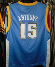 DENVER NUGGETS NBA REEBOK BASKETBALL VEST JERSEY SHIRT 12-13 YEARS #15 ANTHONY