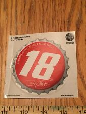 Coca-Cola NASCAR #18 Bobby Labonte Inside Window Cling Decal Sticker ~ Racing