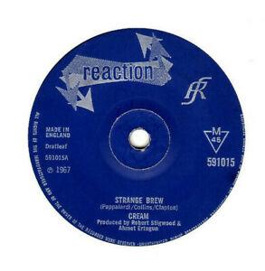 "CREAM - STRANGE BREW / TALES OF BRAVE ULYSSES.UK ORIG 1967 7"".VG-"
