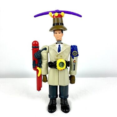 Vtg 1999 Inspector Gadget Happy Meal Toys Full Set Complete Action Figure 14