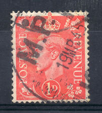 GB = G6 Postmark. `M.P.O. 1945` Single Ring MILITARY POST OFFICE cancel (b)