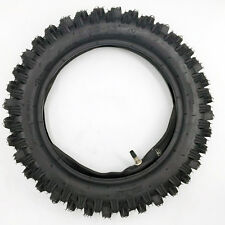 2Sets 12 Inch Pit Dirt Bike Tire Tyre 80/100-12 (3.00-12) Off Road Dirt Pitbike