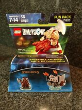 LEGO DIMENSIONS 56 Pc. LORD OF THE RINGS 2 IN 1 BUILDING SET: AGES 7-14: NEW
