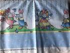 Daisy Kingdom Bunny Bunny Border Fabric 3 yards Number # 1262 Rare 112X45