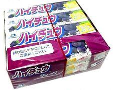 MORINAGA HI-CHEW Grape flavor fruit chews Lots 12 packs 144 pieces Japan F/S