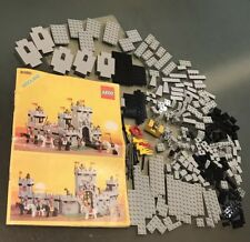 Lego King's Castle 6080 Vintage - Part Set with instructions. Used (1984)