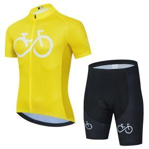 Cycling Jersey Set Mountain Bike Clothing MTB Bicycle Bib Set Bike Shorts Suits