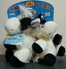 Webkinz Cow Lil Kinz Cow with tags/codes Ganz