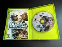 Tom Clancy's Ghost Recon Advanced Warfighter MINT DISC Xbox 360 Complete CIB