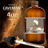 Caveman™ Beard Oil for Men - Grooms Beard, Mustache, boosts hair growth.  4oz