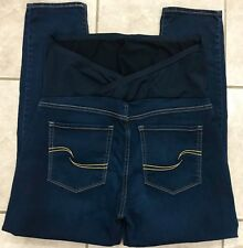 Levis Signature Maternity Skinny Stretch Dark Blue Jeans size XL