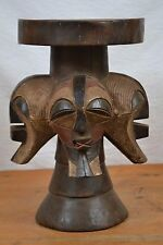 amazing  stool  from songye people Southeastern Congo (Zaire)