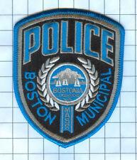 Police Patch - Massachusetts - Boston Municipal Police