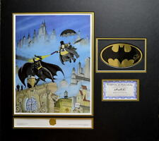 BATMAN RETURNS - PENGUIN'S REVENGE #201/250 HAND SIGNED BOB KANE LOGO PRO MATTED