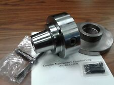 """5C Collet Chuck with 2-1/4""""-8 semi-finished adapter plate,Chuck Dia. 5"""" #5C-05F0"""